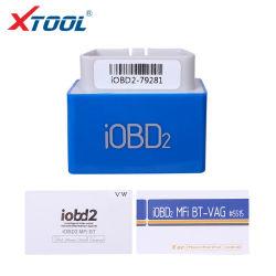 Xtool Iobd2 Bluetooth IMF/Diagnóstico de códigos de Lee para VW/Audi/Seat Skoda Ios y Android de soporte de Bluetooth Actualización gratuita en línea