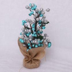 작은 최고 인공적인 소형 테이블 크리스마스 나무 훈장