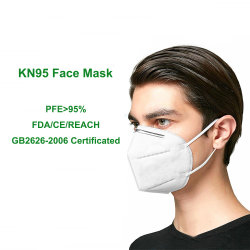 Commerce de gros KN95 masque, GB149-20012626-2006, Fr Respirateur de protection FFP2 Anti-Virus Masque facial jetable de distributeur de poussière KN 95 KN95 masque facial