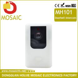 APPはWiFiのビデオドアの電話無線WiFiの視覚ドアの電話ドアベルの通話装置を制御する