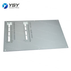 Kundenspezifisches Aluminium Biegen Stempeln Frontplatte für Gehäuse / Chassis
