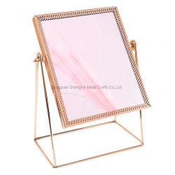 금속 장식적인 미러 가정 장식을%s 탁상용 메이크업 미러 기술