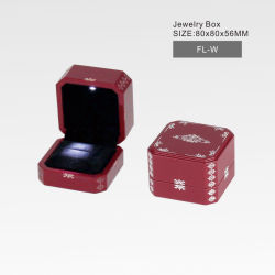 Casella di Jewl del reticolo del laser con l'indicatore luminoso del LED, nuovo lusso di disegno/alta qualità/quadrato di legno/contenitore di regalo cosmetico del profumo della vigilanza dei monili fabbrica del documento/plastica/cuoio/velluto