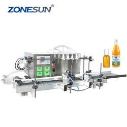 Zonesun Desktop pompa peristaltica automatica eyedrops succo labbro lucido Eliquid Macchina riempitrice di bottiglie di liquido a pigmenti cosmetico