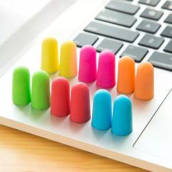 2020 Industrial Slow Rebound Bullet Shape Geräuschreduzierung ANSI-Ohr Plug Eco friendly PU Foam Ohrstöpsel zum Schlafen