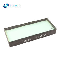Hoogwaardig ballistisch glazen vizier met dubbele beglazing Auto Glas met kogelbestendig glas