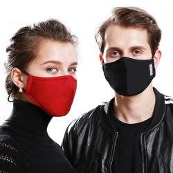 Maschera di protezione nera lavabile all'ingrosso del cotone della bocca di cotone di modo del punto