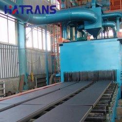 Vervaardigd in China stalen platen /stalen balk/stalen constructie/rupsbandmachine/grote schaal/Hook Through/Roller/Hook-Type/H-vormig Schotstraalmachine en Zand Painting