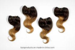 [وهولسل بريس] [برزيلين] جسم موجة شعر إمتدادات 100% [هومن هير] يحزم نسيج [ت2/27] لون ريمي شعر