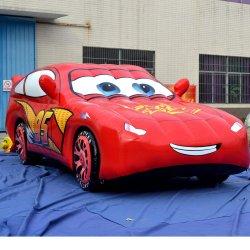 Personnalisé pour la promotion de voiture gonflable, de la publicité de voiture de course gonflable véhicule