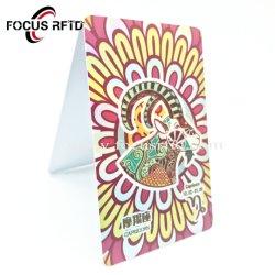 Belo Dom Plástico Adesão Promoção Cartão de PVC /Cartão virgem para a loja a adesão