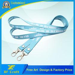 Sagola di seta personalizzata di stampa di prezzi di fabbrica con l'amo del metallo