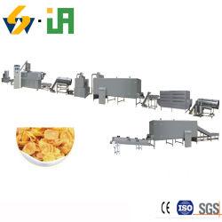 セリウムISO9001の自動コーンフレークの生産の機械装置はラインかさ張る拡大装置処理機械穀物朝食用食品の放出吹いた