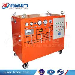 SF6 가스 여과 장치가 포함된 고급 설계 SF6 가스 회수 장치 기능/재활용 장비