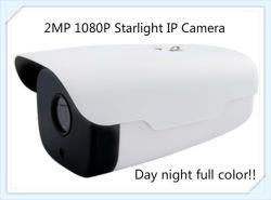 2.0MP HD étanche Caméra IP CCTV Starlight avec IR 50m pleine couleur Jour et Nuit