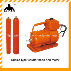 Vibratore per calcestruzzo della superficie del motore a benzina del macchinario di costruzione della Russia