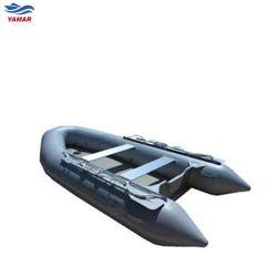 大きい高品質OEMのピヨピヨと鳴く声の膨脹可能なVタイプボート