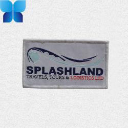 Gostavas de forma circular Tecidos de etiquetas para acessórios de vestuário