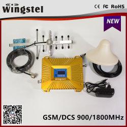 2018 Hot Sale Signal Booster à double bande 900/1800MHz double amplificateur de signal de bande pour téléphone cellulaire