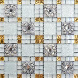 مناسب لقاعة المعيشة في غرفة النوم Allen Roth Mosaic Tile