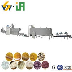 2019 plus populaires de la ligne de production de riz artificielle d'extrusion de la nutrition artificielle le riz souffler Making Machine à produire du riz et le riz doré fortifiée