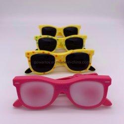 Хорошего качества пластика Cute очки скрепки для бумаги