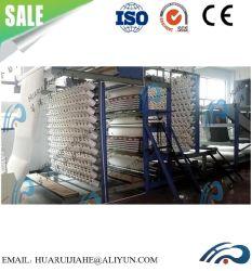 Automatische Baumwollsteppdecke-Ineinander greifen-Maschine, vollautomatische Baumwolle, Wolle, Silk Steppdecke-Bildschirm-Maschine, Steppdecke-Nettofestlegung-Maschine draußen, Baumwollzudecke