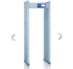 Châssis de porte de sécurité Visite guidée de la colonne de la porte du détecteur de métal