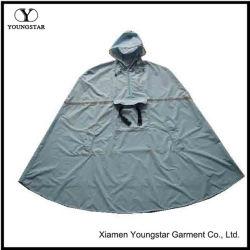 Randonnée pédestre en nylon imperméable Polyester Mens à capuchon Poncho de pluie pour les adultes