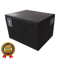 Nouveau design Crossfit Plyo Plyometrics Jump Box Set le remplacement de boîte en bois et de la mousse souple