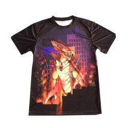Commerce de gros film Thème personnalisé 100% coton plaine d'impression par Sublimation Thermique T-Shirts 150gsm Sublimation polyester T-Shirt le commerce de gros