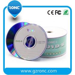 Печать логотипа емкость 4,7 ГБ чистые диски DVD-R 16X