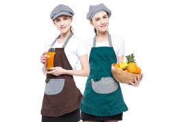 Uniforme su ordinazione del ristorante del grembiule della cucina del cotone