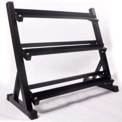 De 3-rij van de Machine van de Gymnastiek van de Apparatuur van de gymnastiek het Rek van de Geschiktheid van de Domoor
