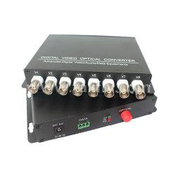 8 video optischer Lautsprecherempfänger des Kanal-HD 20km 720p 960p 1080P FC