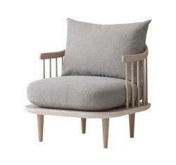 Moderne Möbel-fester Bauholz-Gewebe-Aufenthaltsraum-Sofa-Stuhl