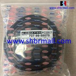 Os kits de vedação para Komatsu PC220-7/PC220LC-7 do Braço Hidráulico/lança/cilindros da caçamba/707-99-58070/707-99-47790/707-99-47570/707-99-47710