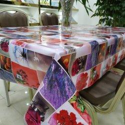 Alfazema Flor vermelha para o mercado europeu com a toalha de PVC de boa qualidade