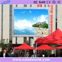 16мм для использования вне помещений фиксированные светодиодный дисплей / светодиодный экран видео стены на размещение рекламы