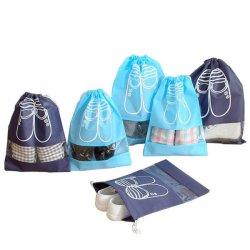 نمو قابل للاستعمال تكرارا غير يحاك تكّة حذاء حقيبة مع [بفك] نافذة