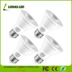 Ampoule de LED réglable 40 degré E27 PAR20 9W par la lumière LED blanc froid