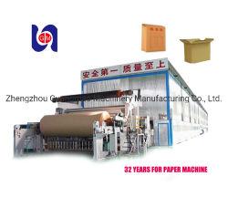 2880mm de alto rendimiento de papel arrugado de papel Kraft Liner acanaladuras máquina papelera para la venta caliente