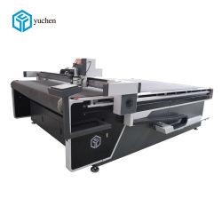 Automatische führende PU lederne Messer-Ausschnitt-Maschine für Beutel