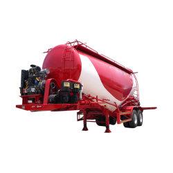 2/3台の車軸40/45 CBM貨物粉のタンカーの大型車両のトラックのキャリアのセメントのトラックのトレーラー