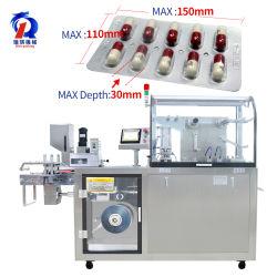 Dpp-160 Kleine Automatische Pharmazeutische Medizin Pille Tablette Kapsel Flache Platte Al-Al Alu-Alu Blister Verpackung Umformmaschine
