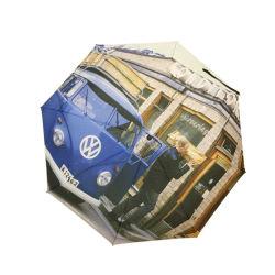 Impressão fotográfica Design Personalizado Custom 3 guarda-chuva dobrável sem mínimo