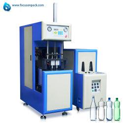 Hz-880 Estación Doble Semi Auto estirar la máquina de soplado de plástico PET de la máquina de moldeo por soplado