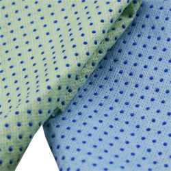 قطعة قماش بلاستيكية مضادة للانزلاق مصنوعة من مادة PVC مثقوبة وقطعة قماش للتنظيف