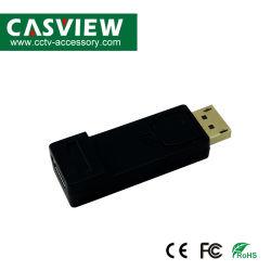 パソコンTVプロジェクターのためのHDMIの女性HD TVケーブルのアダプターのビデオ音声への可聴周波Dpの男性が付いているHDMIのアダプターのコンバーターへの表示ポート