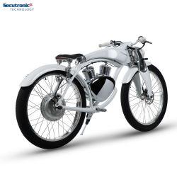 Munro Ebike 2.0標準的なレトロモーターバイクの脂肪質のタイヤの電気バイク48 Vの電気自転車浜の巡洋艦